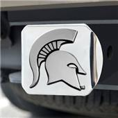 Fan Mats Michigan State Univ. Chrome Hitch Cover