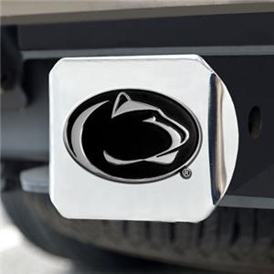 Fan Mats Penn State Chrome Hitch Cover