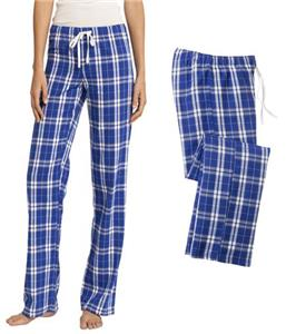 District Juniors Flannel Plaid Pant