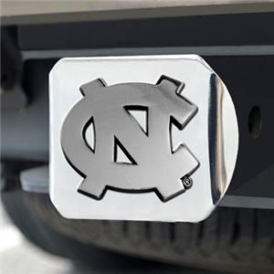 Fan Mats UNC Chapel Hill Chrome Hitch Cover