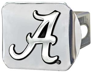 Fan Mats University of Alabama Chrome Hitch Cover