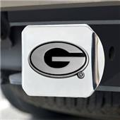 Fan Mats University of Georgia Chrome Hitch Cover