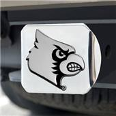 Fan Mats Univ. of Louisville Chrome Hitch Cover