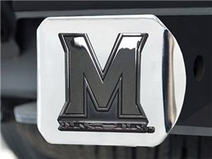 Fan Mats University of Maryland Chrome Hitch Cover