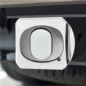 Fan Mats University of Oregon Chrome Hitch Cover
