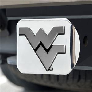 Fan Mats West Virginia Univ. Chrome Hitch Cover