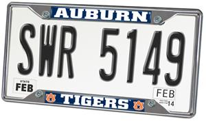 Fan Mats Auburn University License Plate Frame
