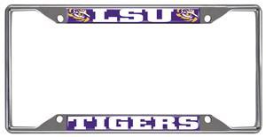 Fan Mats Lousiana State Univ. License Plate Frame
