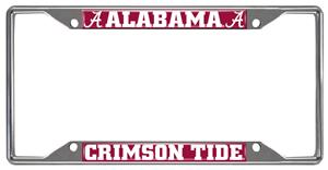 Fan Mats University of Alabama License Plate Frame