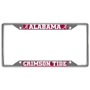 Fan Mats University of Alabama License Plate Frame