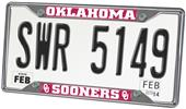 Fan Mats Univ. of Oklahoma License Plate Frame