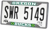 Fan Mats University of Oregon License Plate Frame