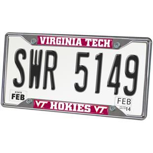 Fan Mats Virginia Tech License Plate Frame