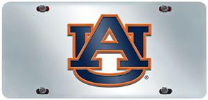 Fan Mats Auburn University License Plate Inlaid