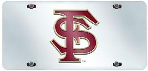 Fan Mats Florida State Univ. License Plate Inlaid