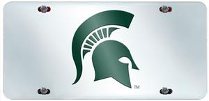 Fan Mats Michigan State Univ. License Plate Inlaid