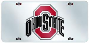 Fan Mats Ohio State Univ. License Plate Inlaid