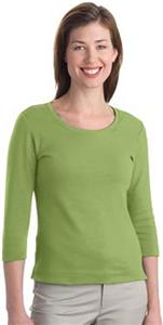 Port Authority Modern Stretch Scoop Neck 3/4 Shirt