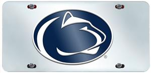 Fan Mats Penn State License Plate Inlaid