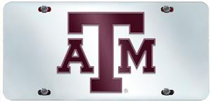Fan Mats Texas A&M University License Plate Inlaid