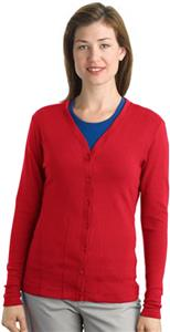 Port Authority Lady Modern Stretch Cotton Cardigan