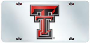 Fan Mats Texas Tech Univ. License Plate Inlaid
