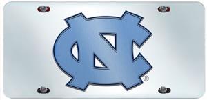 Fan Mats UNC Chapel Hill License Plate Inlaid