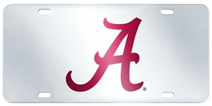 Fan Mats Univ. of Alabama License Plate Inlaid