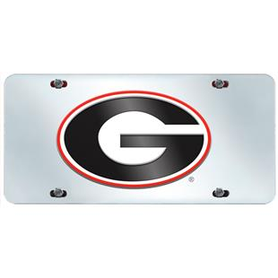 Fan Mats Univ. of Georgia License Plate Inlaid