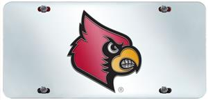 Fan Mats Univ. of Louisville License Plate Inlaid