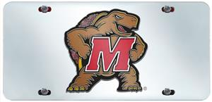 Fan Mats Univ. of Maryland License Plate Inlaid