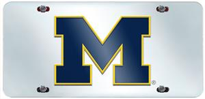 Fan Mats Univ. of Michigan License Plate Inlaid