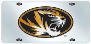 Fan Mats Univ. of Missouri License Plate Inlaid