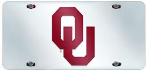Fan Mats Univ. of Oklahoma License Plate Inlaid