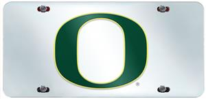 Fan Mats University of Oregon License Plate Inlaid