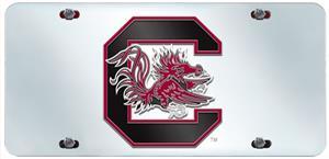Fan Mats U. of South Carolina License Plate Inlaid