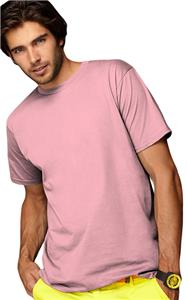 Anvil Organic Pink Adult Fashion T-Shirts