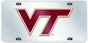 Fan Mats Virginia Tech License Plate Inlaid