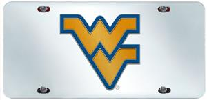 Fan Mats West Virginia Univ. License Plate Inlaid