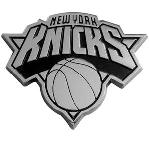 Fan Mats New York Knicks Chrome Vehicle Emblem