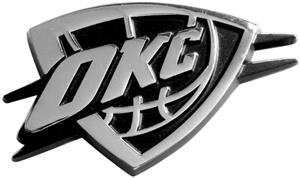 Fan Mats Oklahoma City Thunder Vehicle Emblem