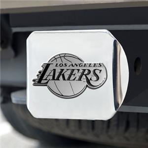 Fan Mats Los Angeles Lakers Chrome Hitch Cover