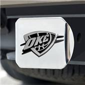 Fan Mats Oklahoma City Thunder Chrome Hitch Cover