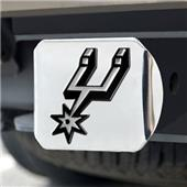 Fan Mats San Antonio Spurs Chrome Hitch Cover