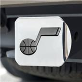 Fan Mats Utah Jazz Chrome Hitch Cover