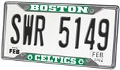 Fan Mats Boston Celtics License Plate Frame