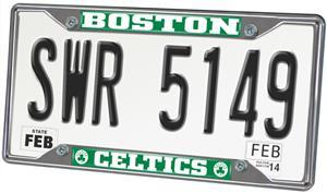 Fan Mats Boston Celtics License Plate Frame