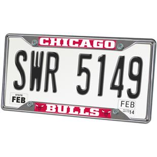 Fan Mats Chicago Bulls License Plate Frame