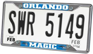 Fan Mats Orlando Magic License Plate Frame