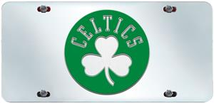 Fan Mats Boston Celtics License Plate Inlaid